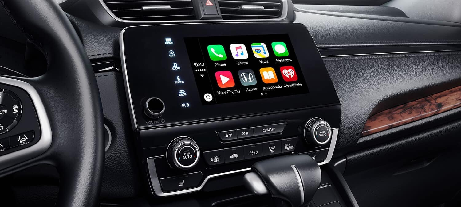 Apple Carplay in 2018 Honda CR-V