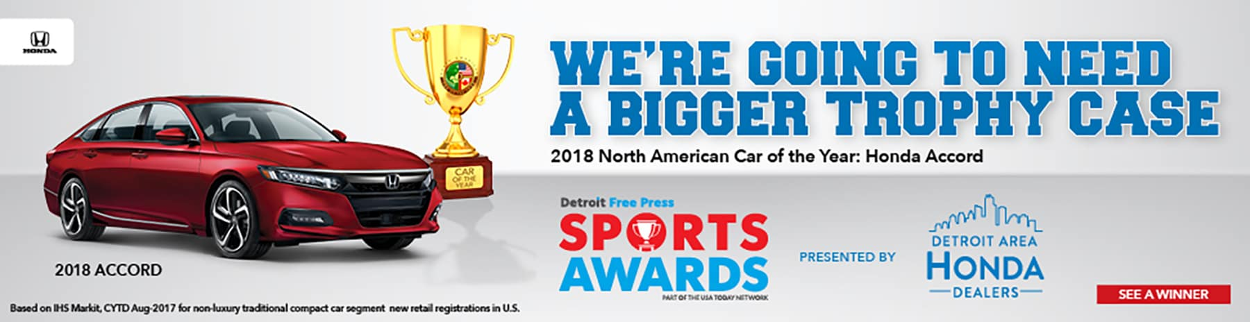 Detroit Free Press Sports Awards Slider