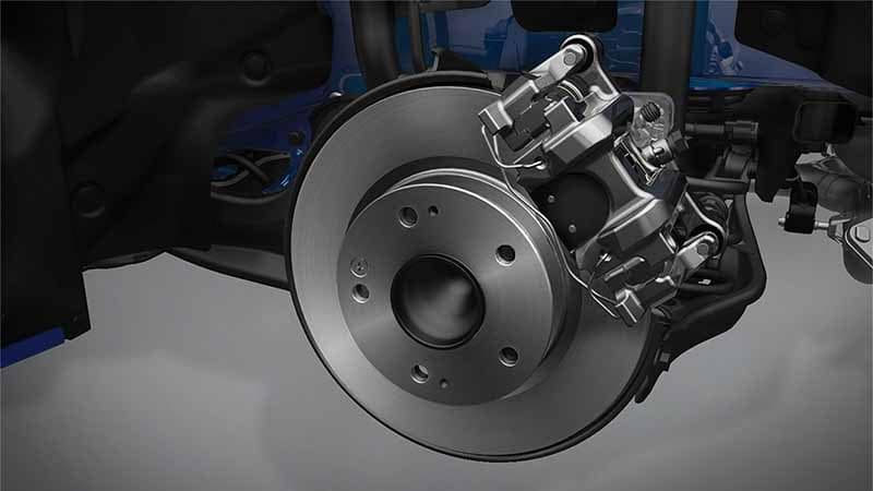 2018 Honda Civic Coupe Electric Brakes