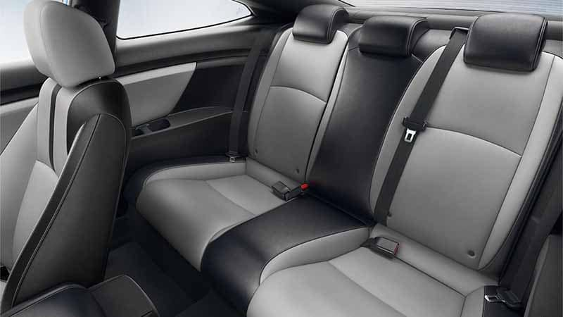 2018 Honda Civic Coupe Leather Seating