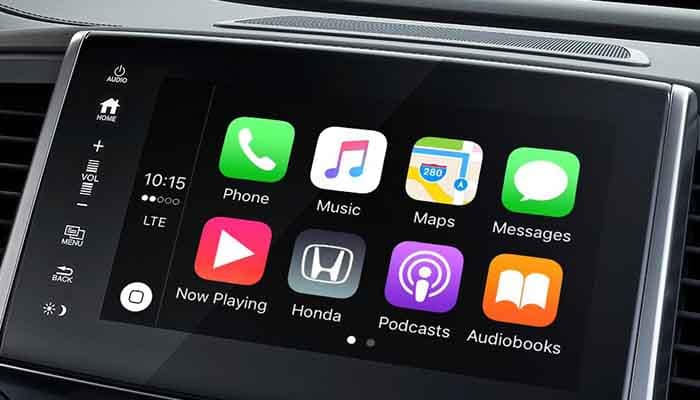 2018 Honda Pilot Apple Carplay