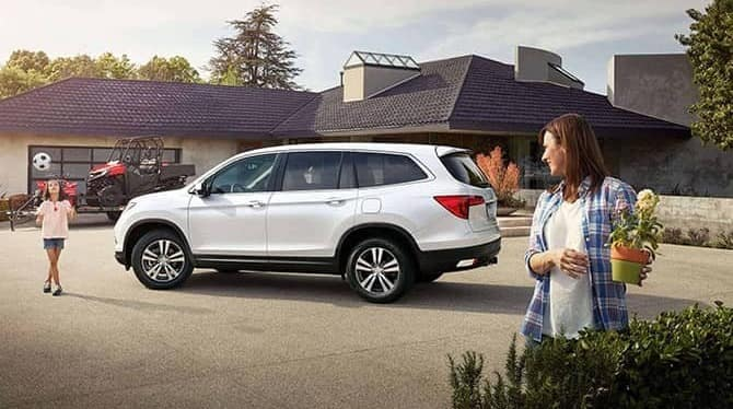 2018 Honda Pilot At Home