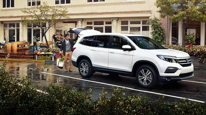 2018 Honda Pilot In City