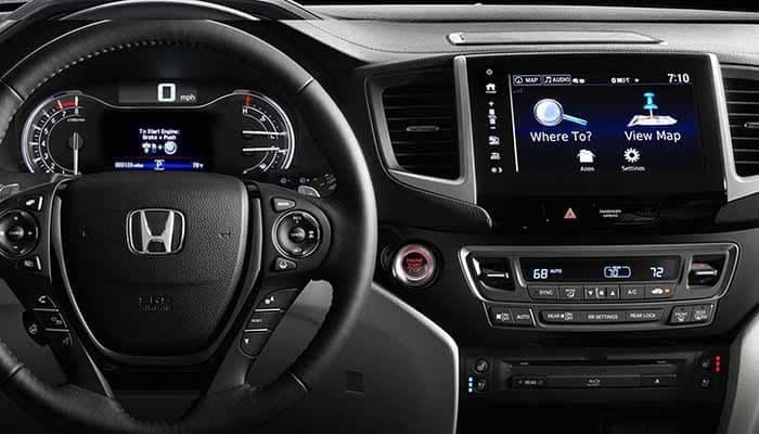 2018 Honda Pilot Navigation System