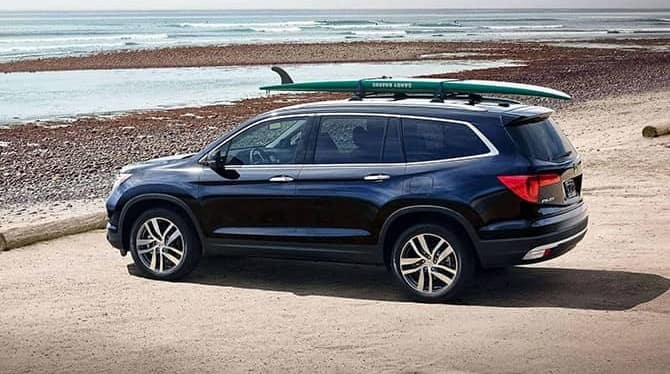 2018 Honda Pilot On The Beach