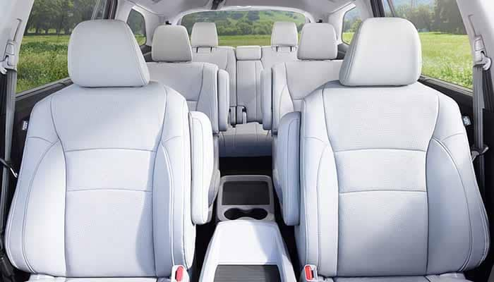 2018 Honda Pilot Seating and Passenger Space