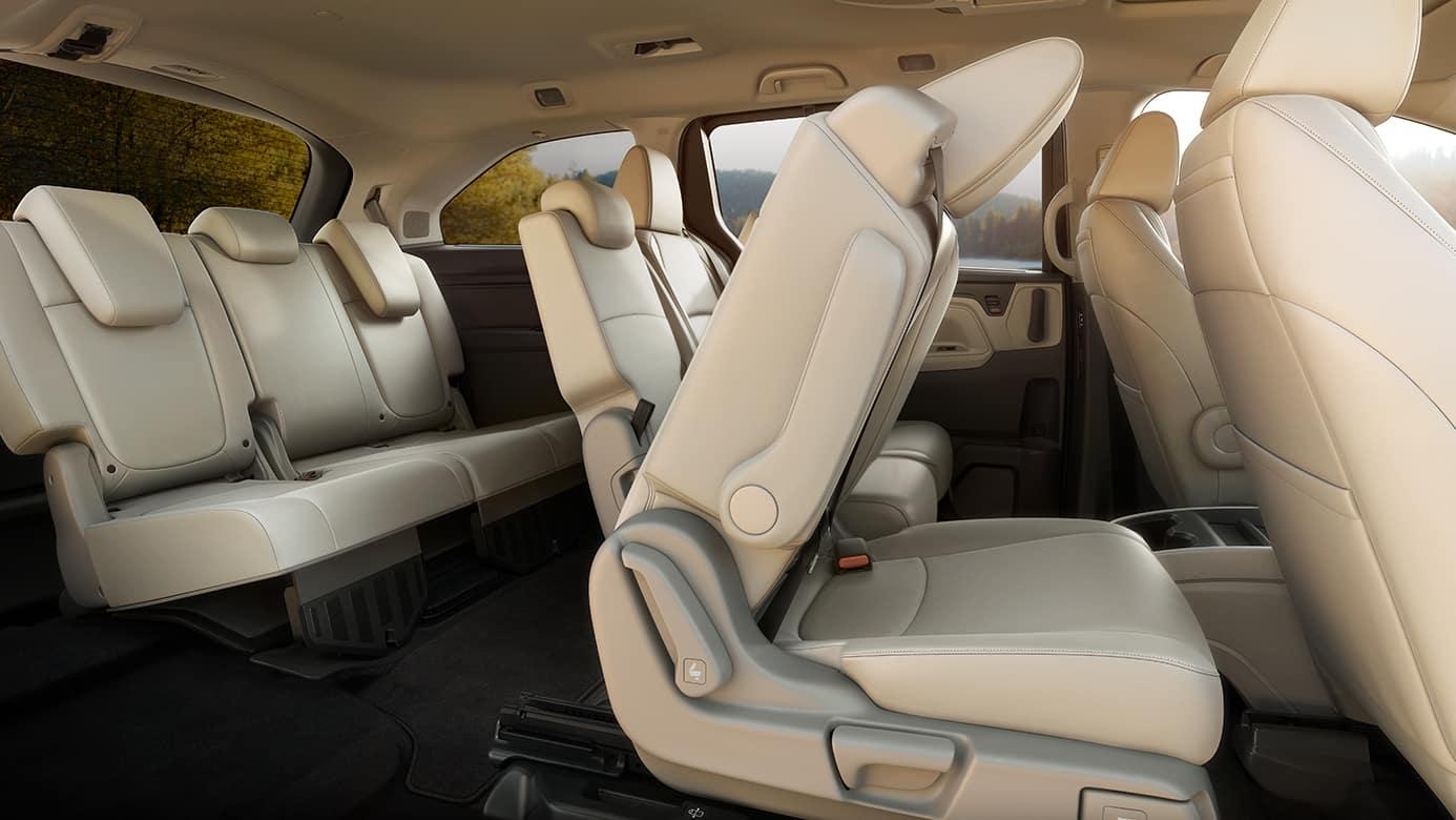 2019 Honda Odyssey Folding Seats