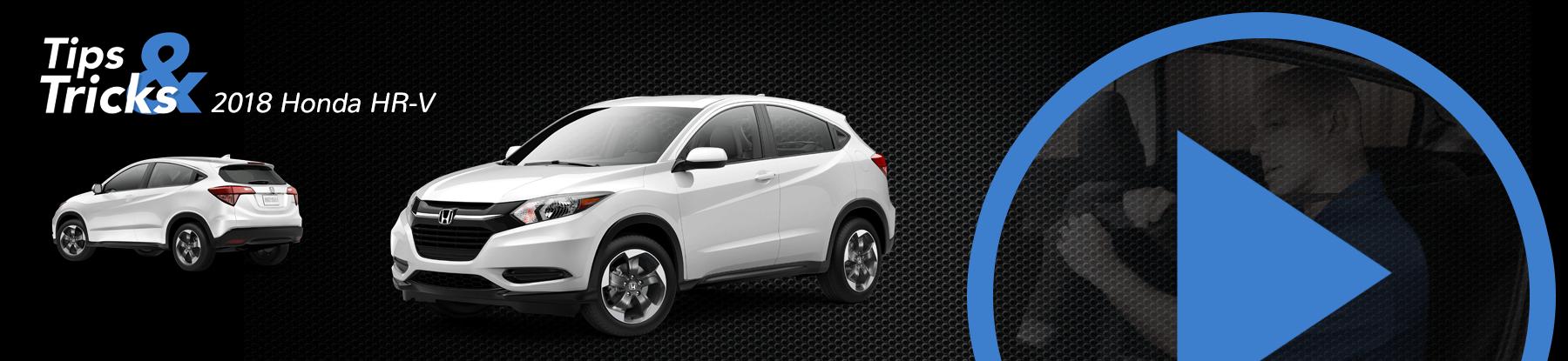 2018 Honda HR-V Tips and Tricks Banner