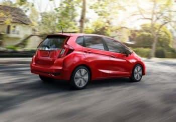 2019 Honda Fit Red