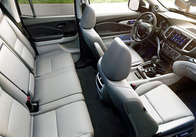 2019 Honda Ridgeline Passenger Space