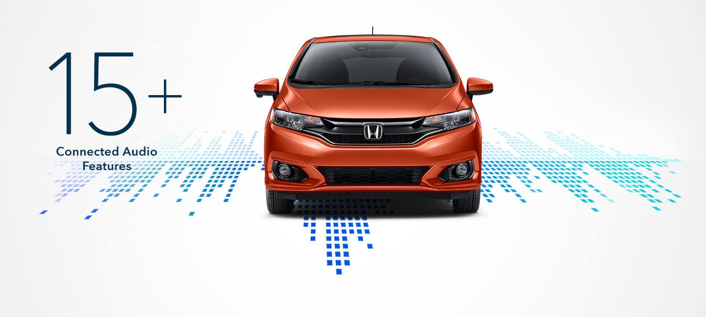 2019 Honda Fit Connected Audio