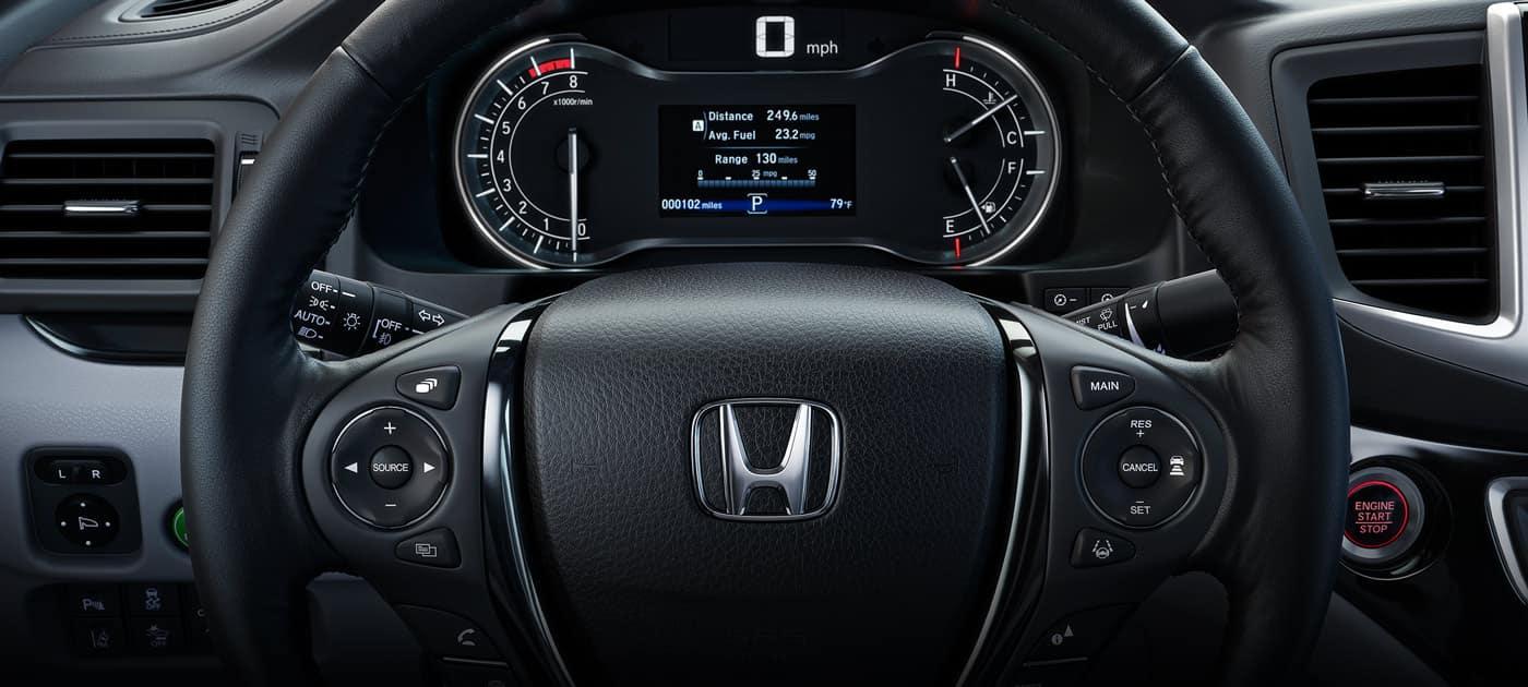 2019 Honda Ridgeline Comfort Controls