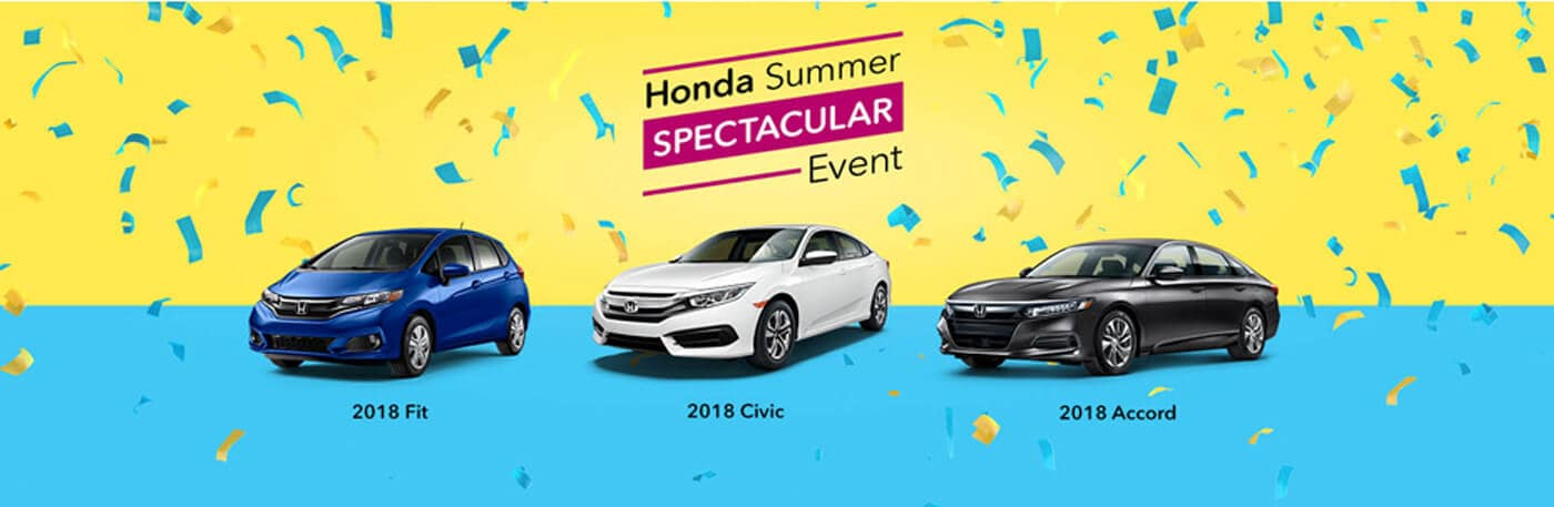 Honda Summer Spectacular Event at your Detroit Area Honda Dealers
