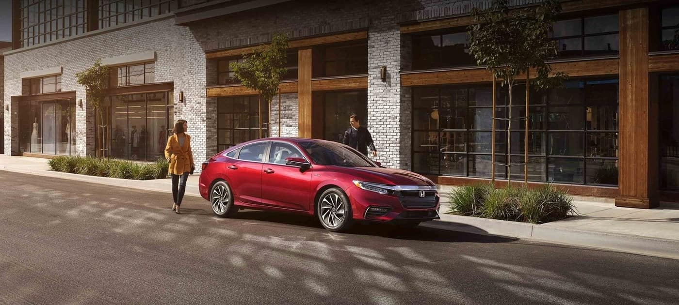 2019 Honda Insight Red On Street