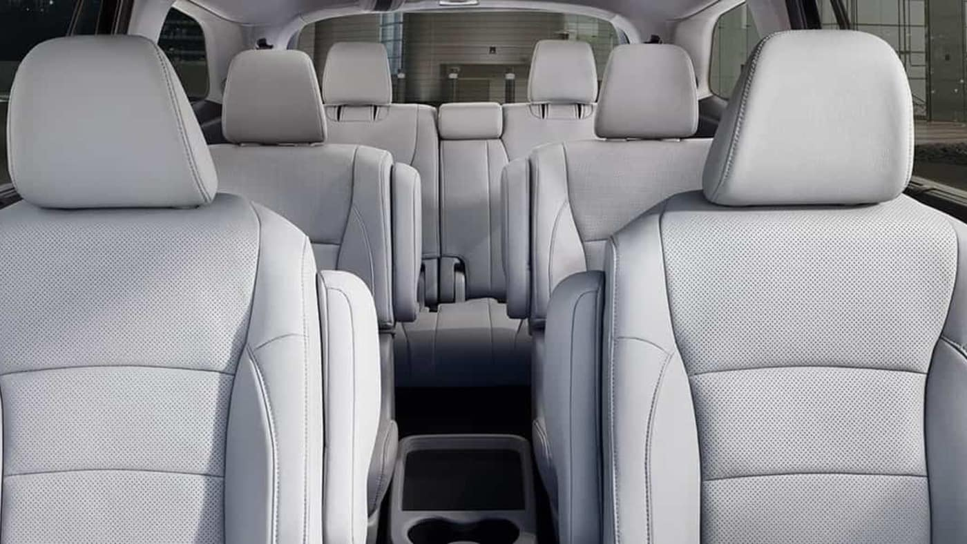 2019 Honda Pilot 3 Row Seating