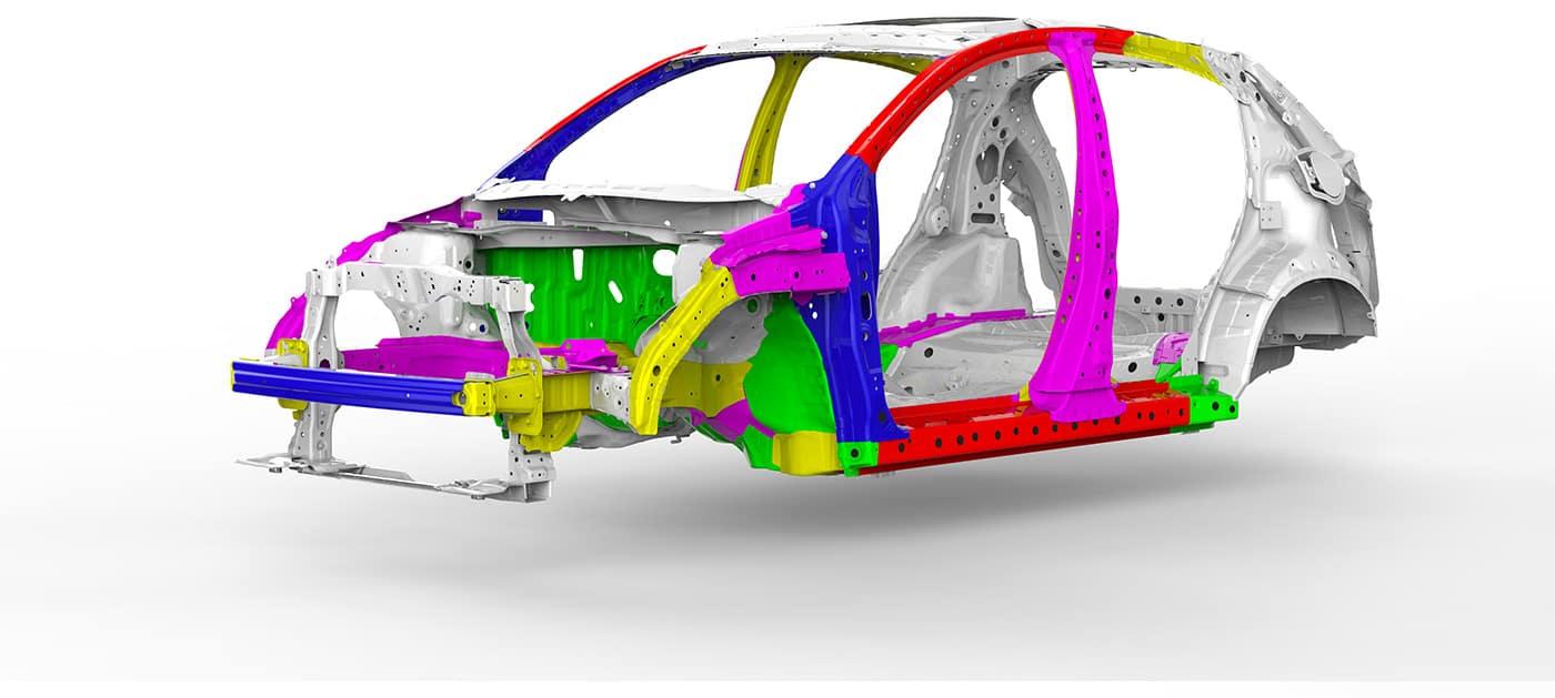 2019 Honda HR-V Ace Body Structure