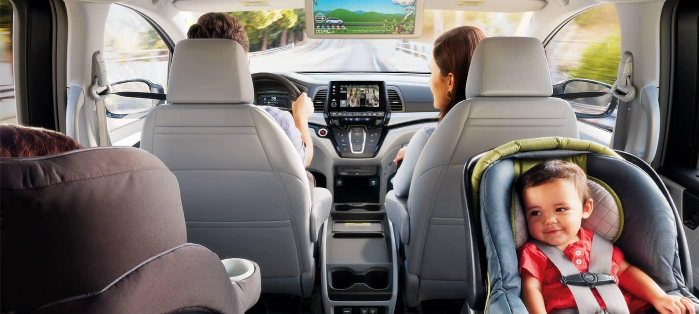 2019 Honda Odyssey Family Driving