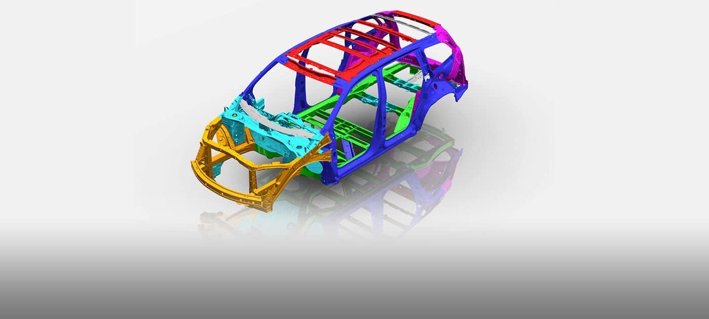 2019 Honda Pilot Ace Body Structure
