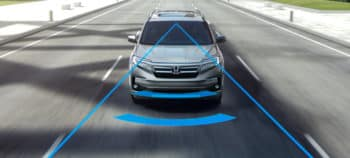 2019 Honda Pilot Honda Sensing Front View