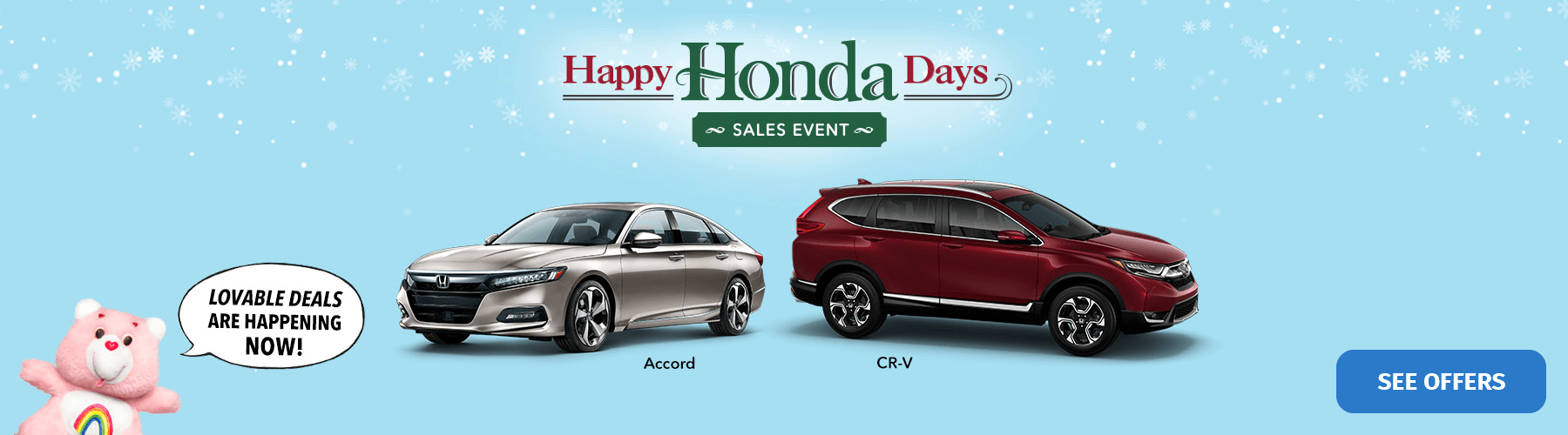 2018 Happy Honda Days Sales Event Banner