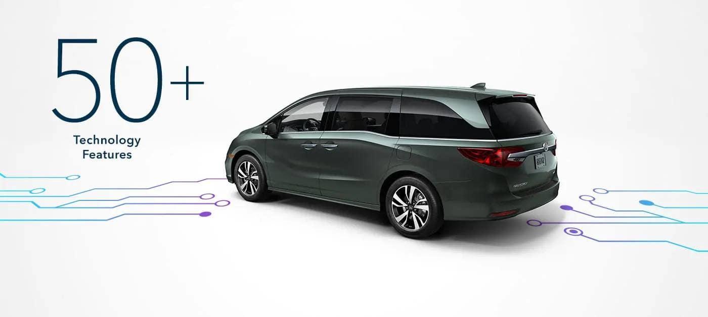 2019 Honda Odyssey Driver Assistance Technology