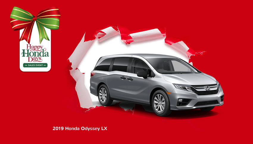 Happy Honda Days 2019 Odyssey