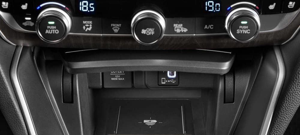 2019 Honda Accord Comfort Controls