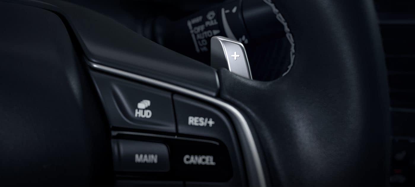2019 Honda Accord Paddle Shifters