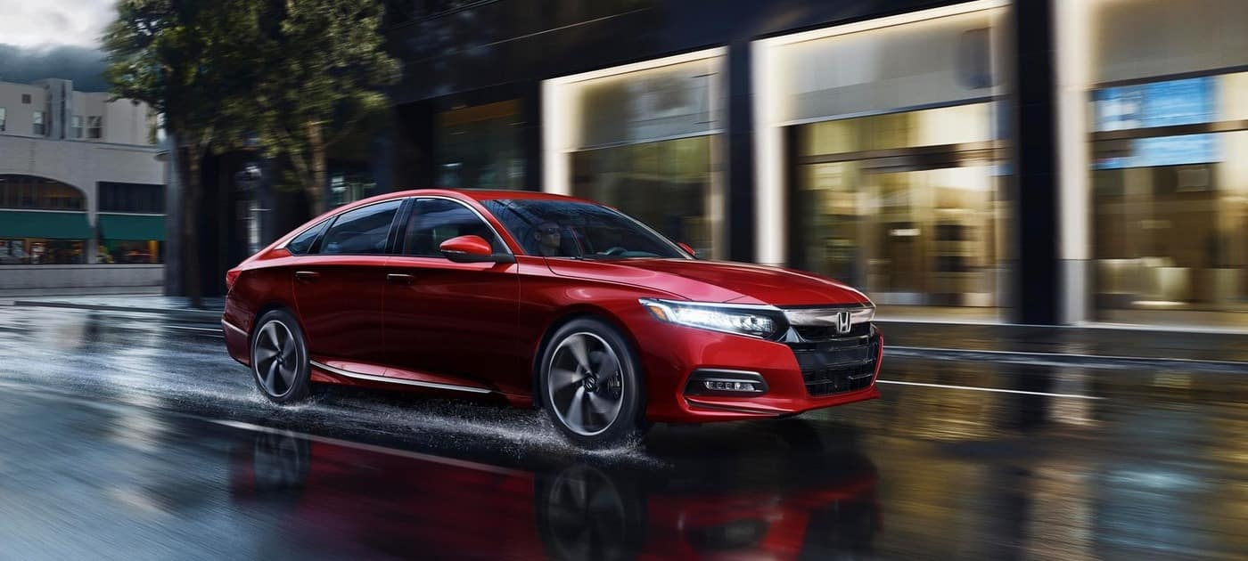 2019 Honda Accord Red In Rain