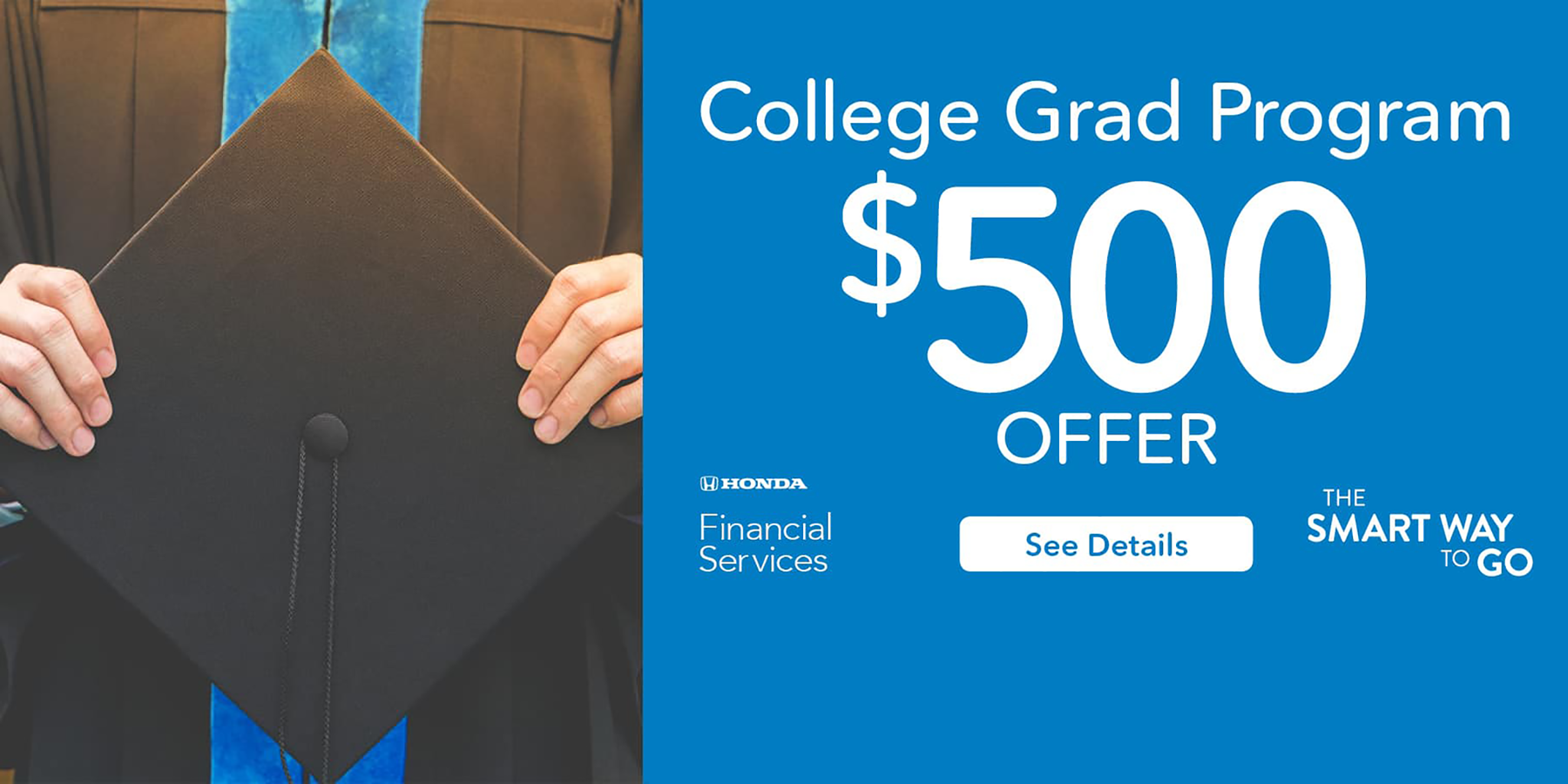 2019 Honda College Graduate Program HP Slide