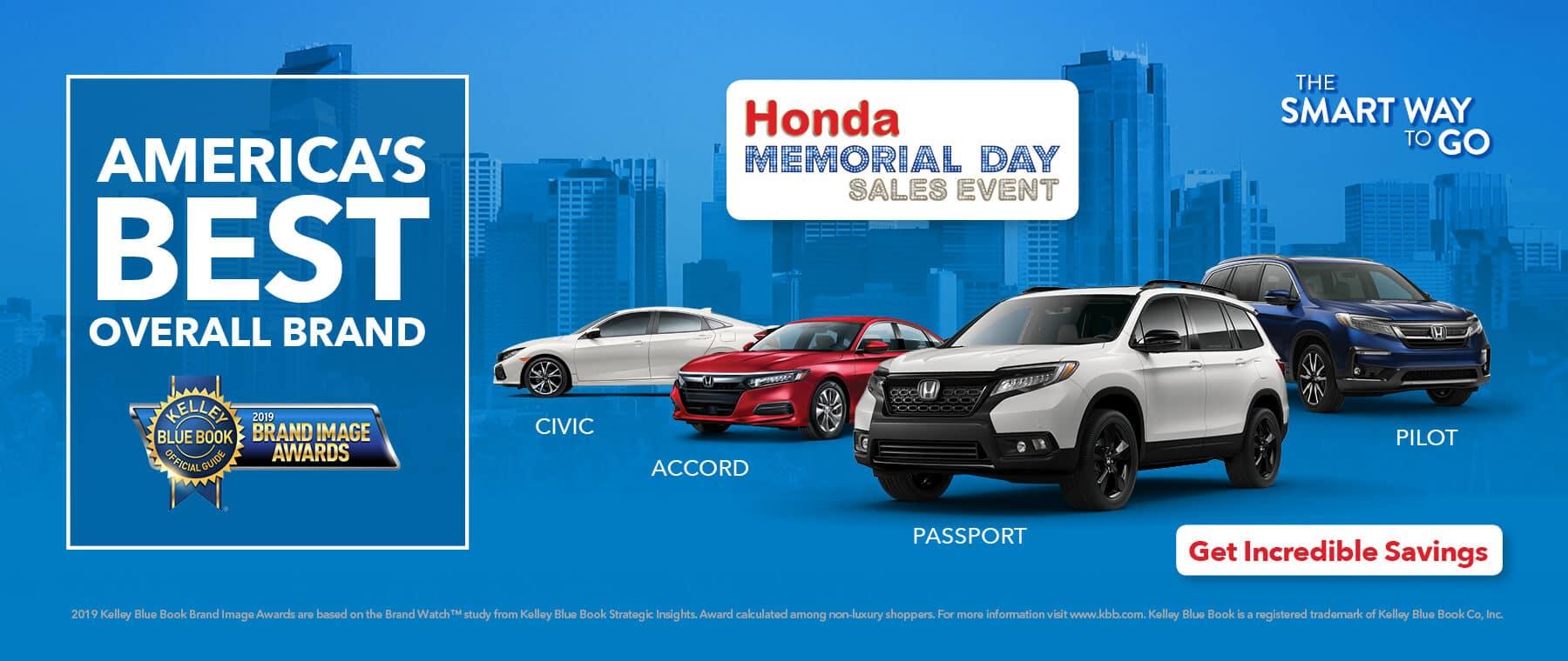 2019 Honda Memorial Day Sales Event Detroit Area Honda Dealers HP Slide