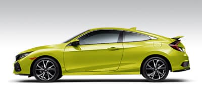 Honda Civic Si Coupe Models Page Button