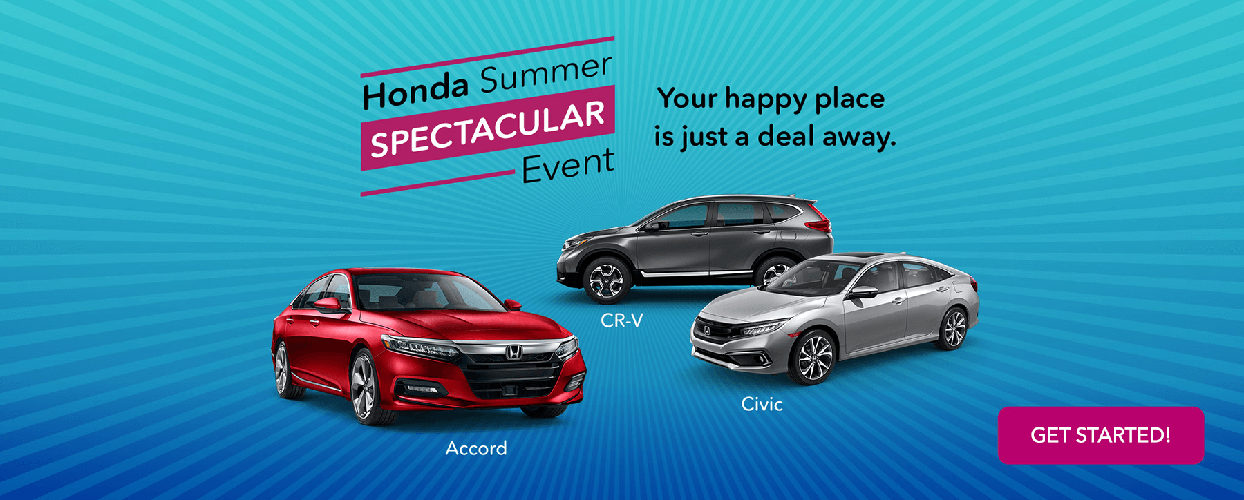 2019 Honda Summer Spectacular Event Slider