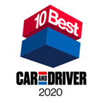 Honda Accord 2020 Car and Driver's 10Best Award