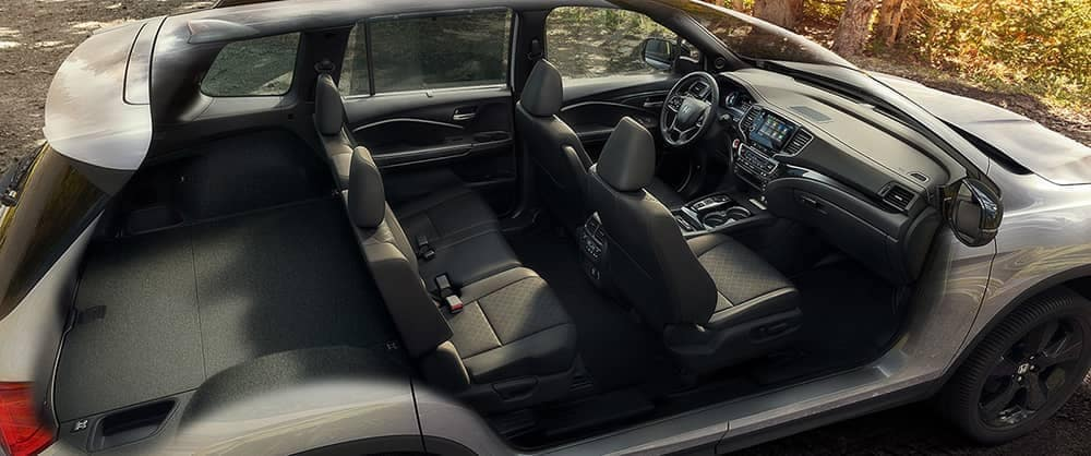 Cross-hatch of 2020 Honda Passport interior
