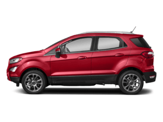 Ford Eco Sport red