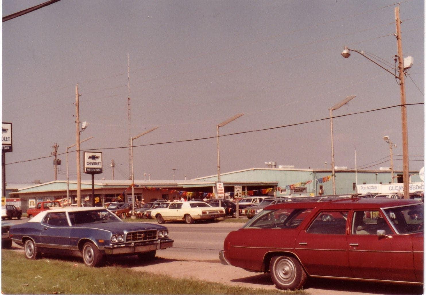 broadway cars 1970s
