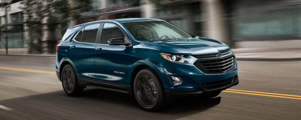 2021 Chevy Equinox, Blue Exterior