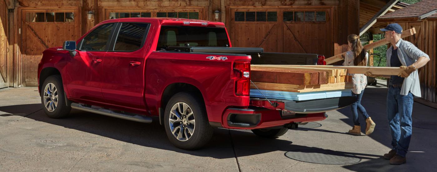 2021 Chevy Silverado, Red Exterior