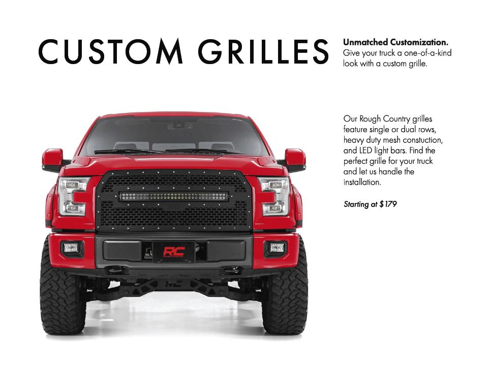 custom grilles