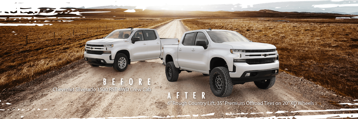 Before After Truck