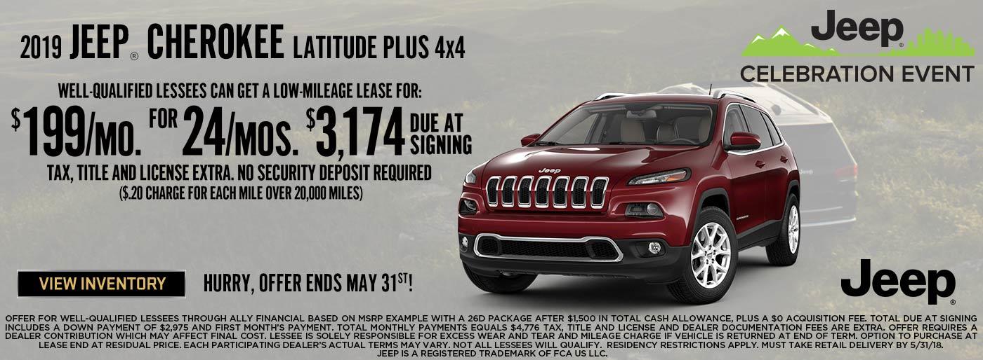 Lease, Cherokee, Finance, Jeep