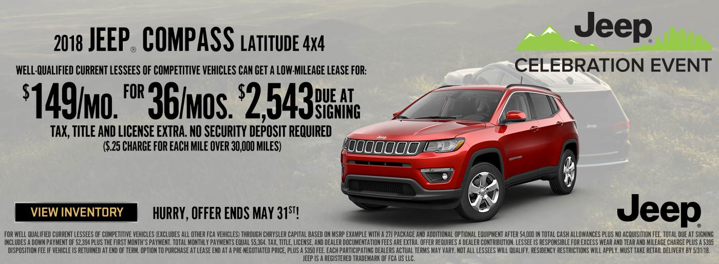 Lease, Compass, Finance, Jeep