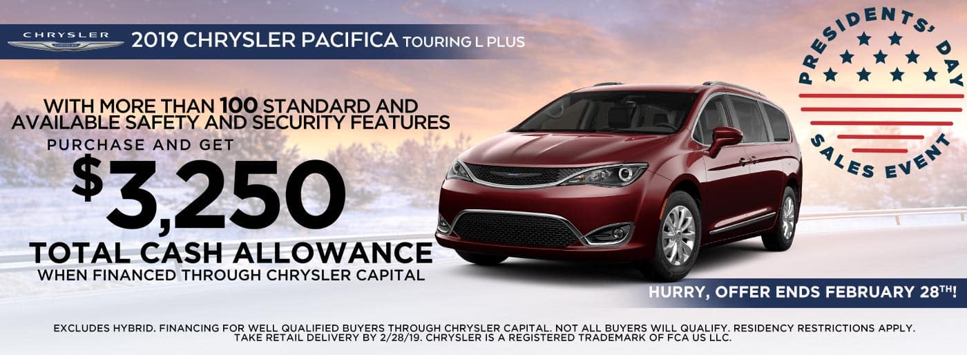 Chrysler Pacifica, Downtown Auto Group, L&L Motor, Vernal, Utah, Roosevelt, New Van