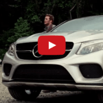 "Behind-the-scenes of ""Jurassic World"" with the 2016 Mercedes-Benz GLE Coupé"