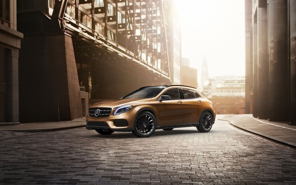 2018 GLA SUV In City
