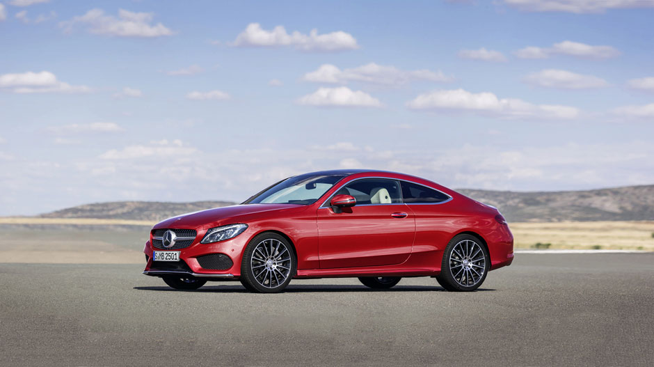 the 2017 c class coupe promises immense power in a sleek. Black Bedroom Furniture Sets. Home Design Ideas