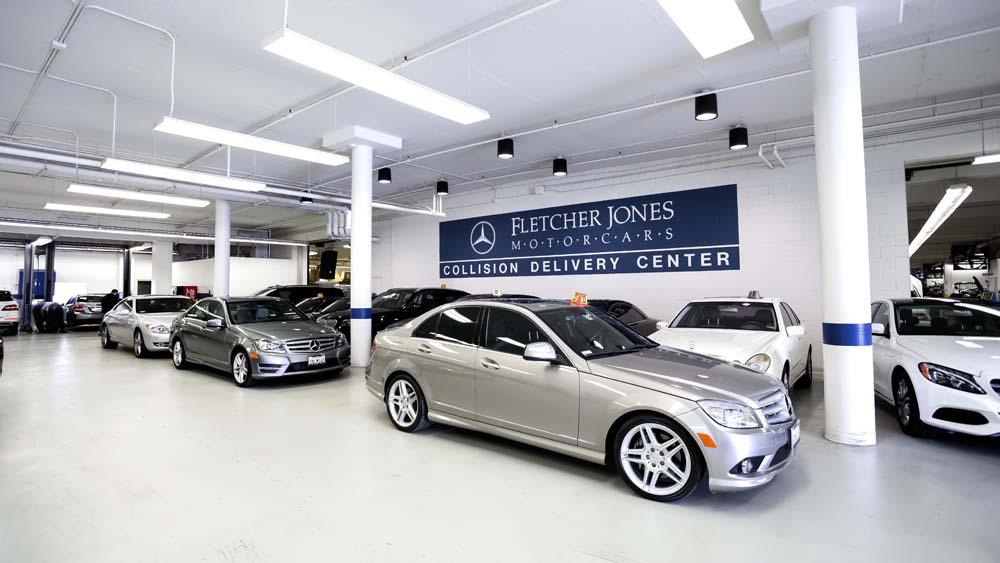 Enjoy certified inclusive service at fletcher jones motorcars for Mercedes benz service price