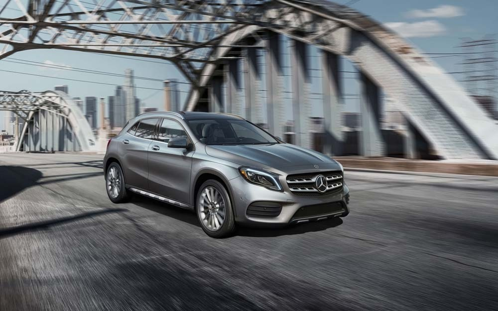 The 2018 mercedes benz gla 250 pushes all the right buttons for Mercedes benz dealers in orange county