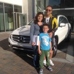 2016 Family at Fletcher Jones Motorcars with Mercedes-Benz